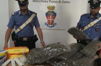 Sequestro stupefacente Barcellona PG