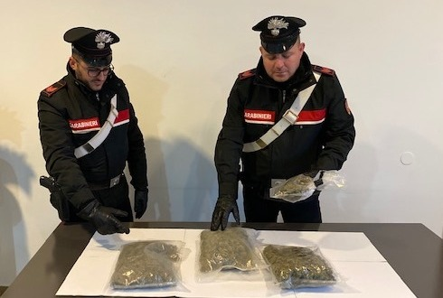 Arresto S.Agata per droga