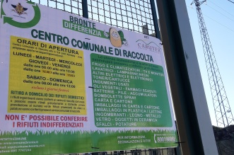 BRONTE - CENTRO COMUNALE DI RACCOLTA