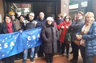 CSA., protesta ASU ASP 5