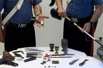 CC Caronia sequestro armi e munizioni2