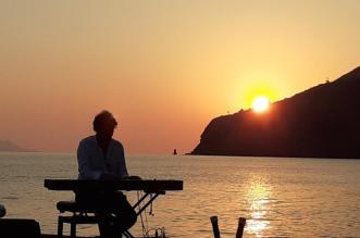 Maestro Giuseppe Urso durante i lconcerto Omaggio al Sole SJF