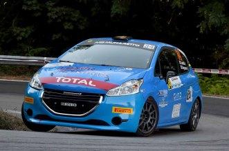 Casella Alessandro-Siragusano Rosario, Peugeot 208 R2 #34, CST Sport