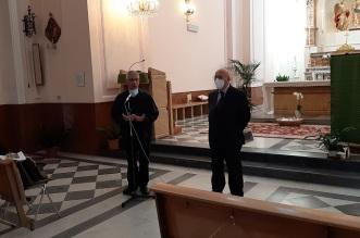 Santuario Annunziata - padre Capizzi e Firrarello