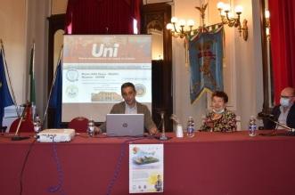 da sn. prof. F. Spadola, prof.ssa. Bonfiglio, prof. Cavallaro