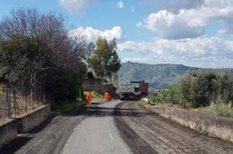 Bronte Inizio lavori strade provinciali