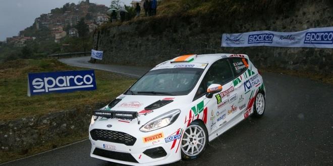 Alessandro Casella, Rosario Siragusano(Ford Fiesta Rally4 #86)
