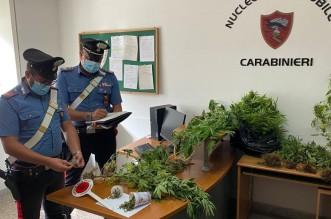 Arresto stupefacenti CC Sant'Agata