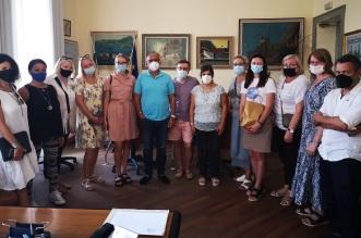 delegazione lituana a Capo d'Orlando
